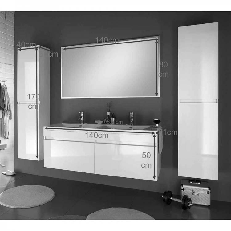 Moderne Badmöbel – praktische Ideen für Waschbecken Unterschrank