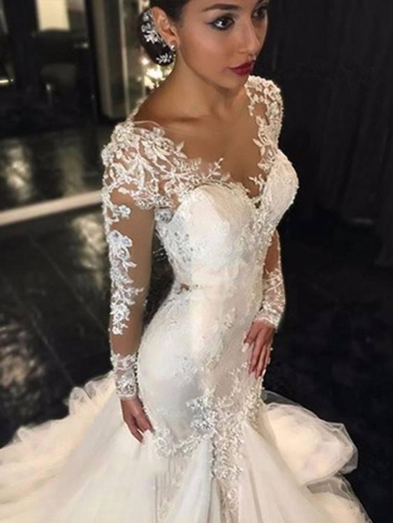 Hochzeitskleid ivory elfenbein Tattoo 36 38 3