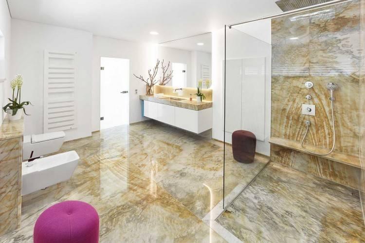 granit badezimmer waschtischplatten design ideen