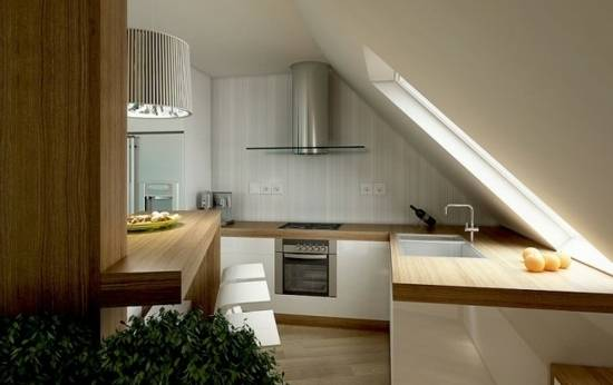 Kleine Küche Dachschräge Kleine Küche Dachschräge