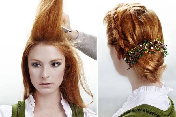 Frisuren Lange Haare Für Hochzeit in Schnelle Frisuren Für