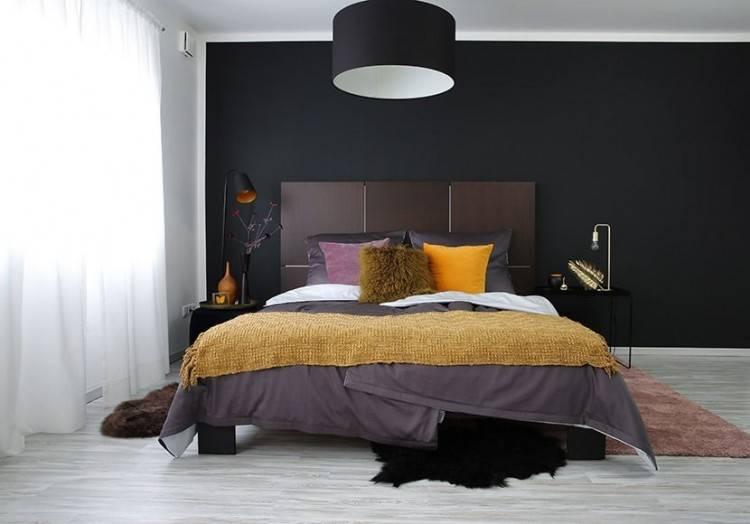 40 sehr coole Ideen für effektvolle Schlafzimmer Wandgestaltung