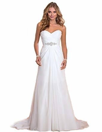 Elegante Champagner Brautkleider / Hochzeitskleider 2018 A Linie Perlenstickerei Spitze Blumen Applikationen Off Shoulder Kurze Ärmel Rückenfreies.
