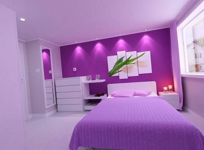 wandtattoo jugendzimmer madchen elegant schlafzimmer schwarz lila weiss design
