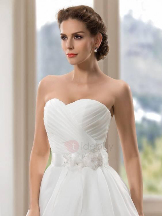 Hochzeitskleid Strass; funkelndes Hochzeitskleid