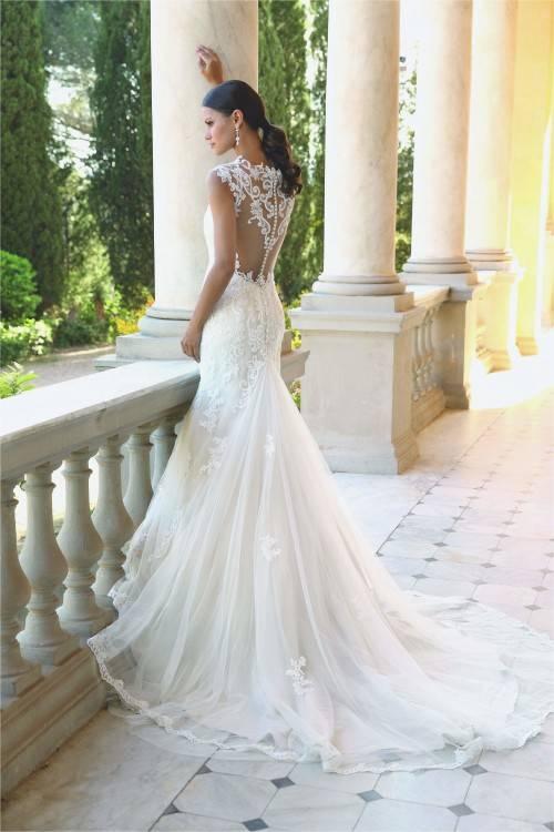 Besonderes Brautkleid Hochzeitskleid Spitze Tüll Avinia · Besonderes  Brautkleid Hochzeitskleid Spitze Tüll Avinia 2