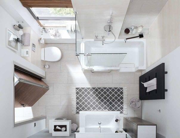 Badideen Für Kleine Bäder Mit Dachschräge · Badezimmer Ideen