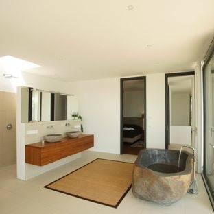 Badezimmer Badezimmer Deko Ideen Design Geraumiges Kuhles Natur auf Das Elegant badezimmer deko bambus für Home