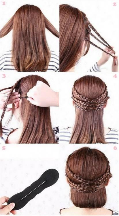 Sommerfrisuren für lange Haare