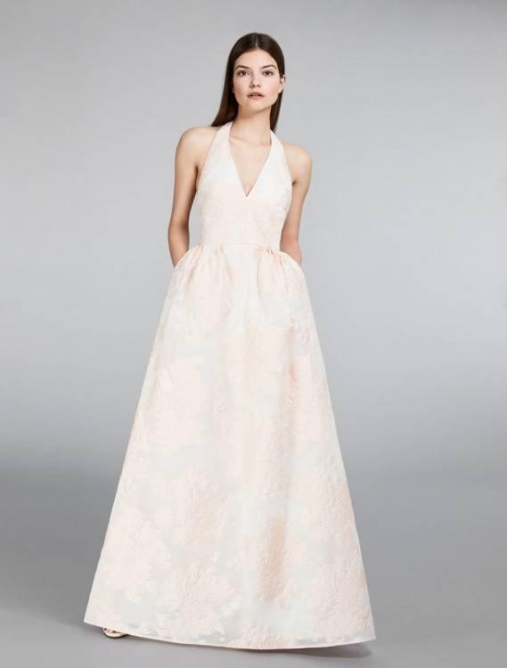 UFACE Vintage Hochzeitskleid Chiffon Leine Kleide Kleine Frau C