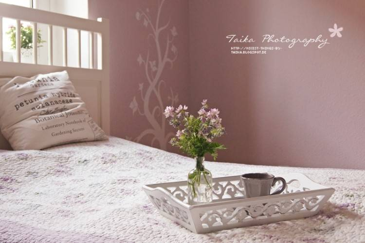 schlafzimmer rosa