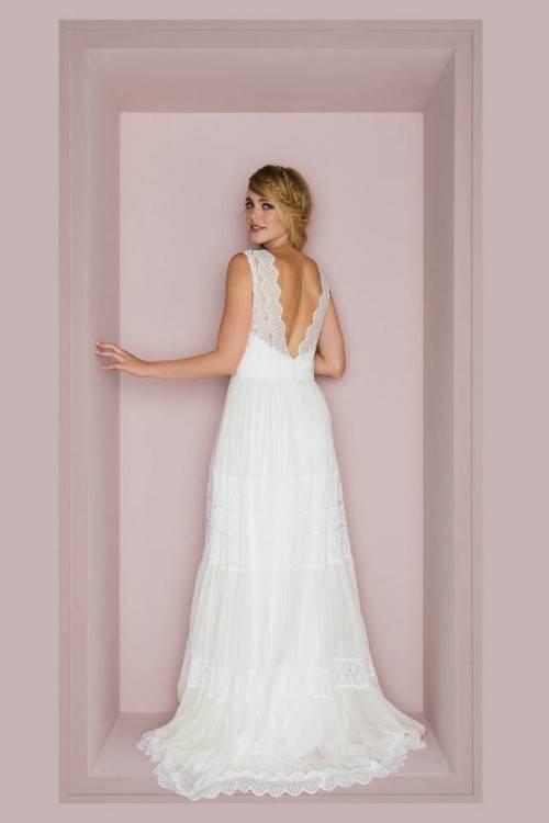 G64 Brautgürtel, beige, Gürtel,Brautkleid, Hochzeitskleid, b