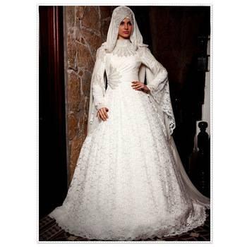 ZYLLGF Braut Luxuriöse Brautkleid Ballkleid Lange Zug Spitze 2017 Brautkleider Dubai Importiert Brautkleid Mit Zurück Bogen TA5 in ZYLLGF Braut Luxuriöse