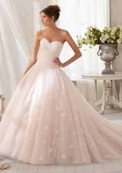 Sagte Mhamad Brautkleider Ballkleid mit langen Ärmeln Hochzeitskleid Prinzessin Stil luxuriöse Perlen Kristalle Brautkleider 2017