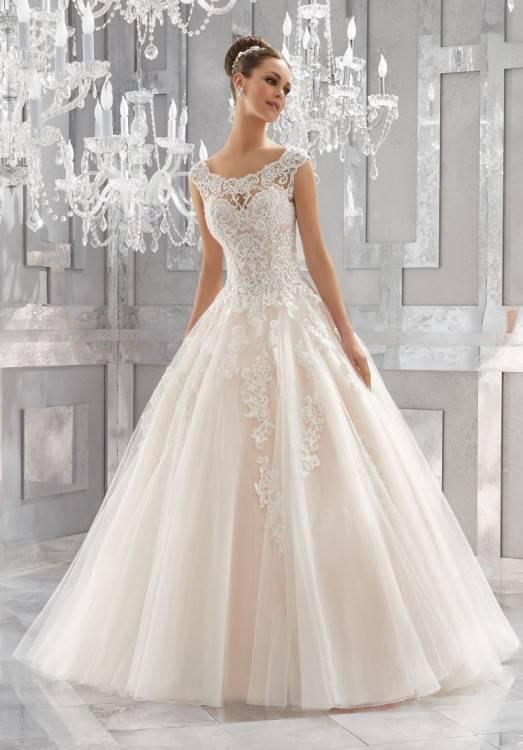 Brautkleid Hochzeitskleider Lang Prinzessin Damen Satin A Linie Falten mit Pailletten: Amazon