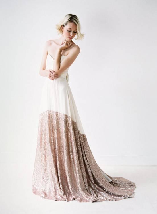 Traumhaft schönes blush farbenes Hochzeitskleid · Traumhaft schönes blush farbenes Hochzeitskleid 2