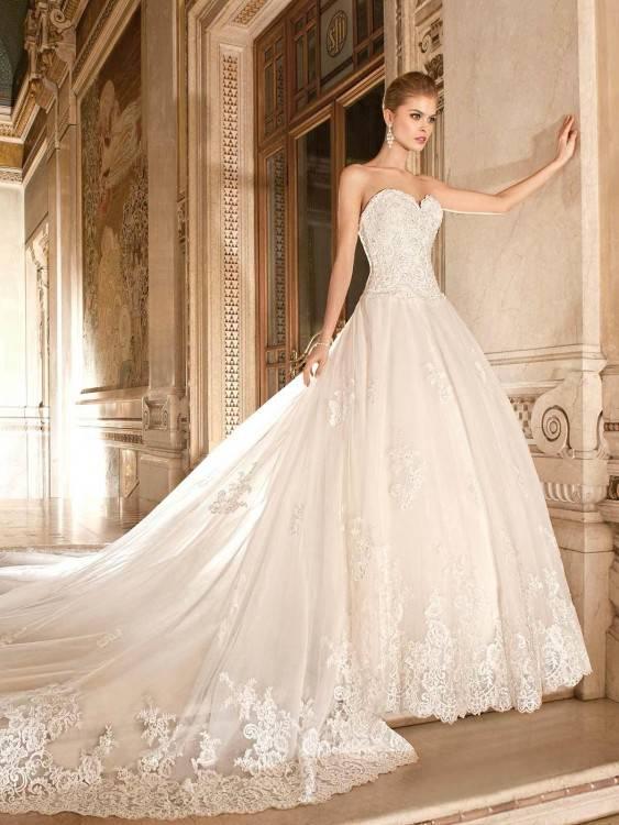 Prinzessinnen Brautkleid Fa