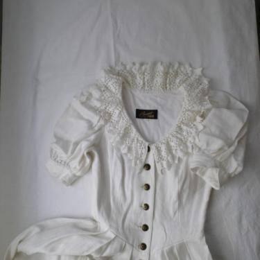 Foto 3 Wunderschönes Brautkleid im Landhausstil