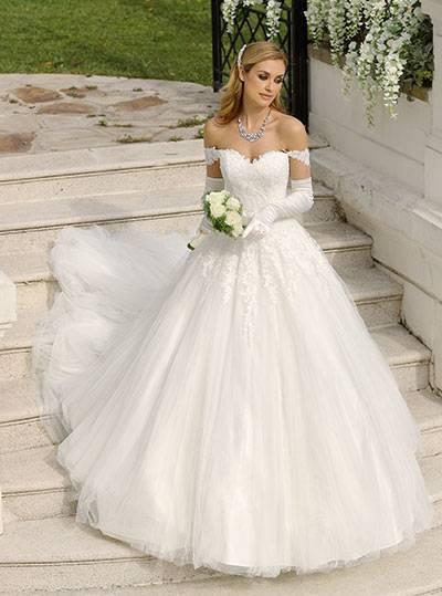 Brautkleid, Hochzeitskleid leicht Vintage Look 5
