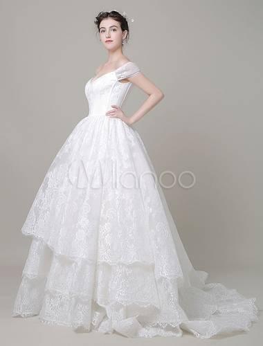 Großhandel 2018 Luxus Ballkleid Brautkleider Arabisch Schatz Dubai V Zurück Perlen Kristall Pailletten Sweep Zug Land Plus Size Formale Brautkleider Von