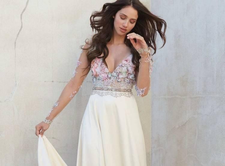 Hochzeitskleid Etuikleid