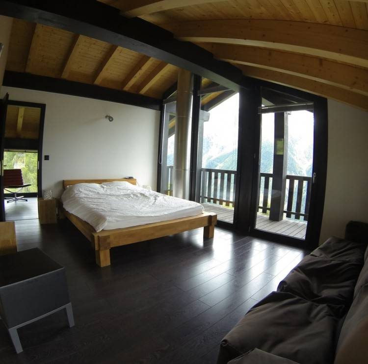 30 Ideen für gemütliche Schlafzimmer Einrichtung im Stil Chalet |  Schlafzimmer