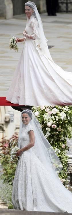 custom made schieren langarm V hals spitze/applique a linie brautkleid 2015 Kate Middleton prinzessin brautkleid muslim kleider in custom made schieren