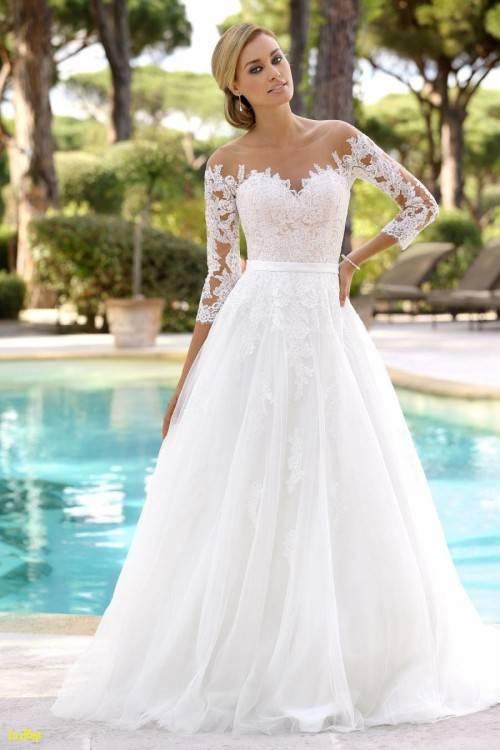 Großhandel Chiffon Lace Modern Zwei Stücke Hochzeitskleid Halbarm Top Land Boho Brautkleid Kleid Von Fuchisabridal, $110