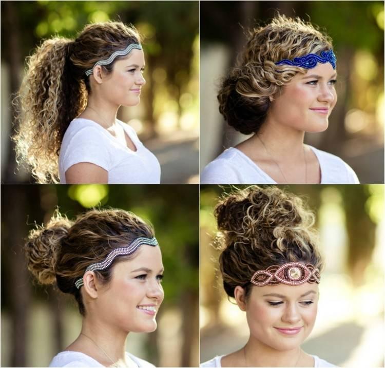 40 Frisuren für Naturlocken zum Selbermachen mit Anleitung | Haare
