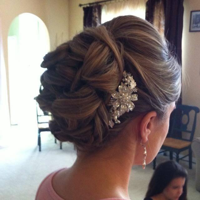 Unordentlich Updo Frisuren zum Besten von Hochzeit: Brautjungfern Frisuren # Hochzeiten