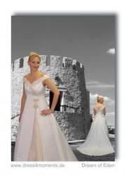 billige Spitze Brautkleider