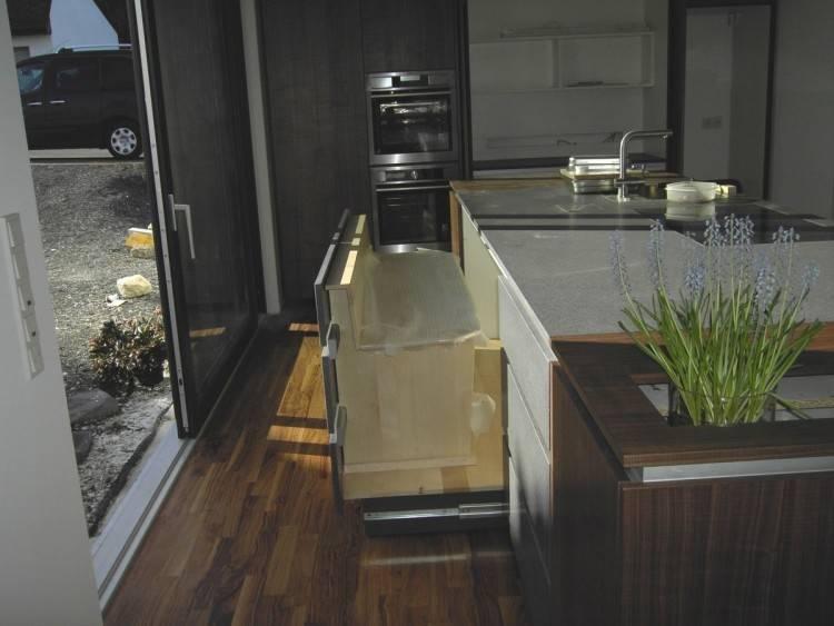 Küchen Glasrückwand Luxus Küche In Weiss Mit Motiv Glasrückwand