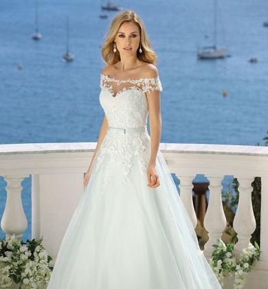 TOP Brautkleid Hochzeitskleid Weiß ,Gr