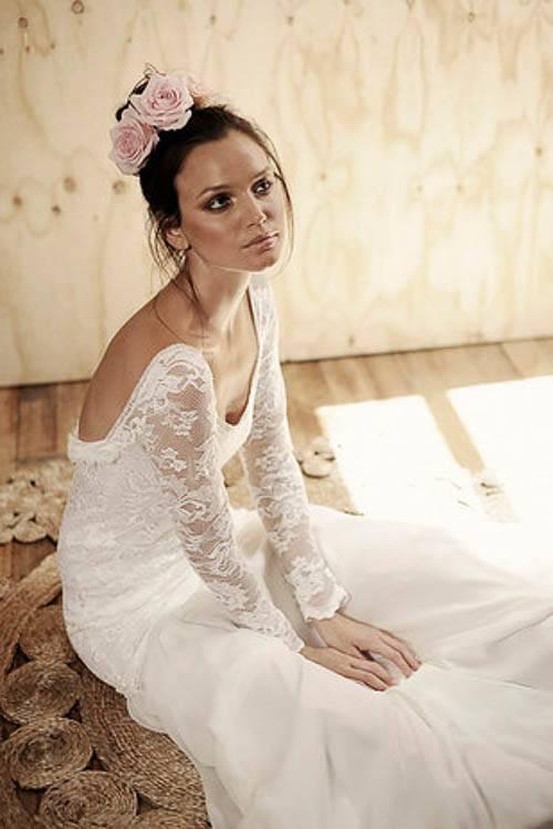 Hochzeitskleid im Boho Style