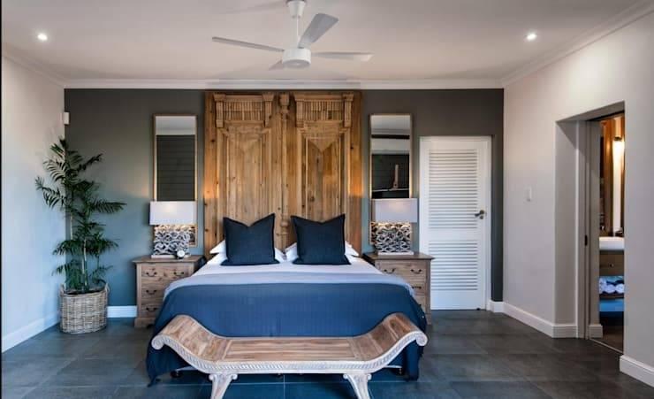 Romantische Schlafzimmer Dekoration zum Valentinstag