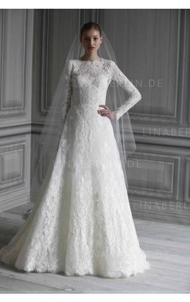 Viele Frauen können sich entscheiden zu imitieren eine Hochzeit Kleid mit Ärmeln