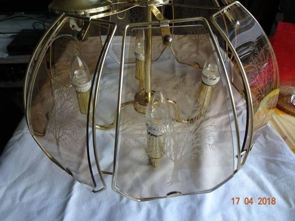 5 Watt Deckenleuchte Chrom weiß Beleuchtung edel Schlafzimmer Lampe 2