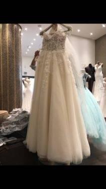 Brautkleid Hochzeitskleid ungetragen neu Gr