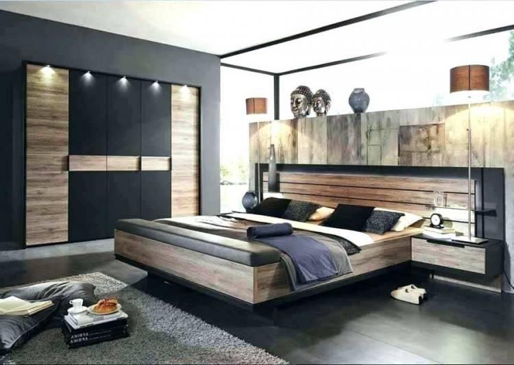 Schwebebalkenbett Arno aus Balkeneiche massiv