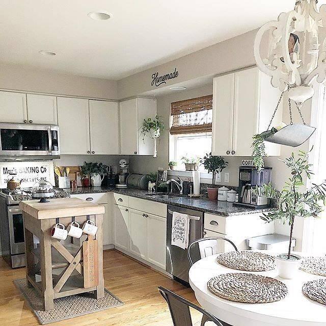 # bauernhaus #besten #entzuckende #ideen #kitchendecoratingideas #kuche  #moodecor #