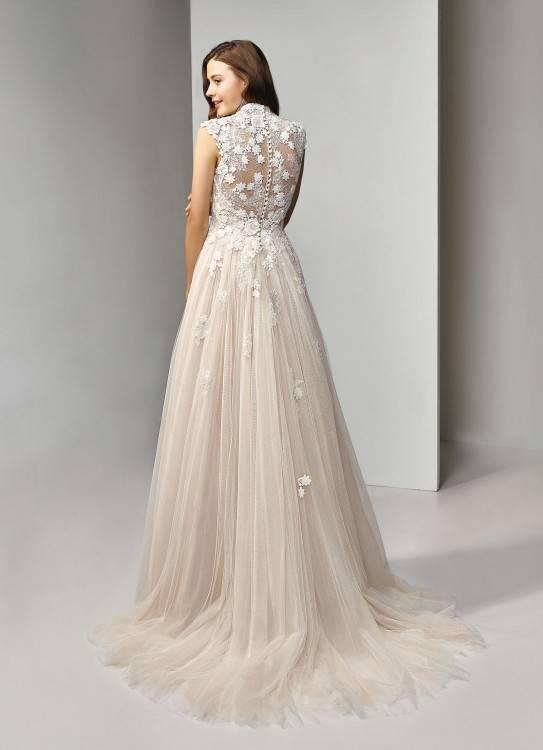 Brautkleid der Marke Ladybird Bridal in blush rosa weiss 44 46 48 XL XXL Hochzeit