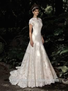 Brautkleid / Hochzeitskleid, champagner, Gr