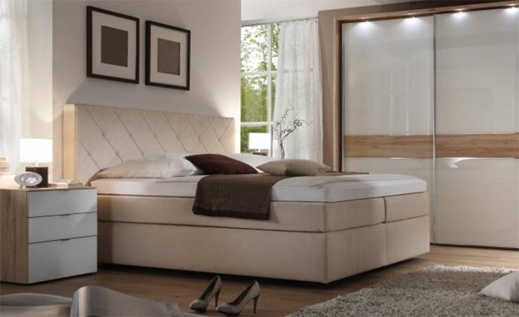 Schlafzimmer Boxspringbett Komplett Beispiele Komplett Schlafzimmer Mit Boxspringbett Wohnideen Schlafzimmer