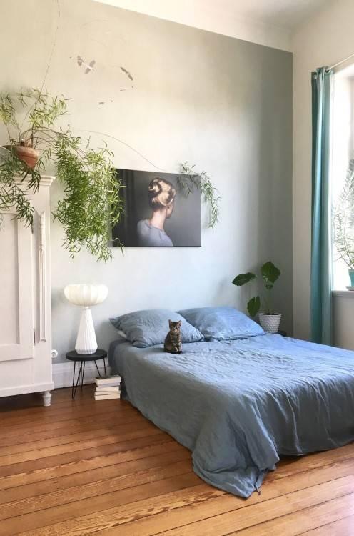 Gemütliches Schlafzimmer im Berliner Stil