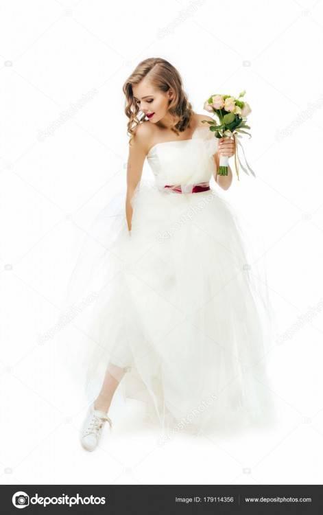 Perfekte Hochzeitsfrisur für langes