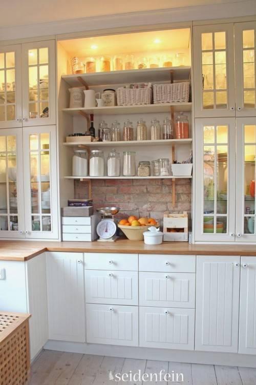 22 wunderschöne Ideen für Herbst Dekoration im Küchen Interieur
