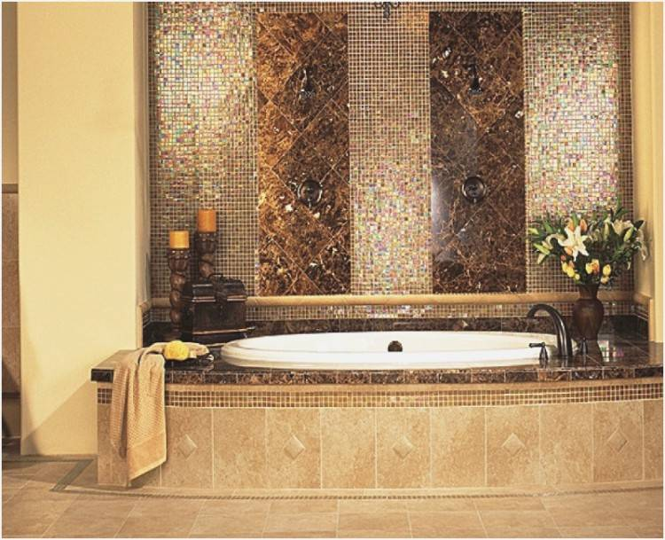badezimmer fliesen ideen avec tapete streifen braun frische bad fliesen ideen mosaik magnificent badezimmer fliesen mosaik