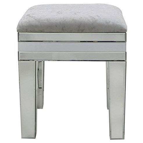 Sitzhocker Fußhocker Vintage Hocker klappbar für Ihr Wohnzimmer Schlafzimmer Flur Baumwolle mit Beschriftung Metallgestell Unikat 2