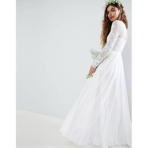 NEU ASOS Bridal Brautkleid Hochzeitskleid Gr