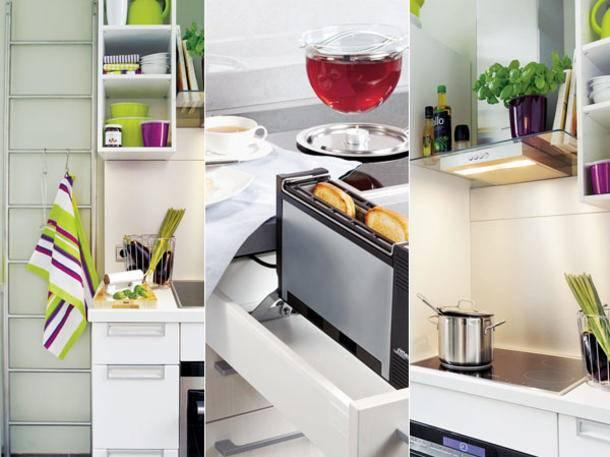 Kleine Küchen einrichten – Tipps und Ideen zum Grundriss